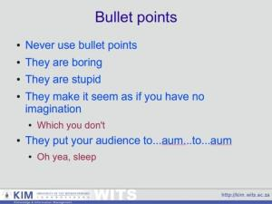 Wits University Powerpoint